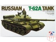 Tamiya - Russian T-62A Tank, Scale: 1/35, 35108