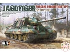 Takom - Jagdtiger Sd.Kfz.186 Porsche Production type, Mastelis: 1/35, 8003