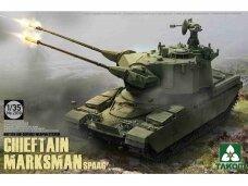 Takom - British Air-defense Weapon System Chieft Chieftain Marksman SPAAG, Mastelis: 1/35, 2039