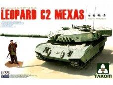 Takom - Canadian MBT Leopard C2 MEXAS, Mastelis: 1/35, 2003