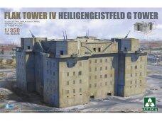 Takom - Flak Tower IV Heiligengeistfeld G Tower, 1/350, 6005