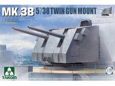"Takom - MK.38 5""/38 Twin Gun Mount, 1/35, 2164"