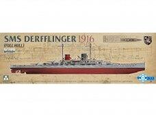 Takom - SMS Derfflinger 1916 full hull, 1/700, 7034