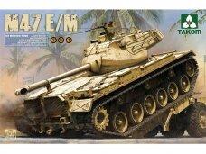 Takom - M47 Patton E/M, Mastelis: 1/35, 2072