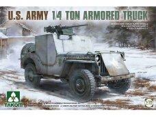 Takom - U.S. Army 1/4 Ton Armored Truck, Mastelis: 1/35, 2131