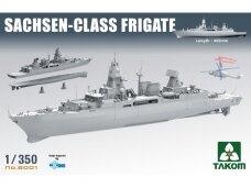 Takom - Sachsen-Class Frigate, 1/350, 6001