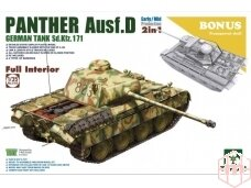 Takom - Panther Ausf. D 2in1 Mid/Early, Mastelis: 1/35, 2103