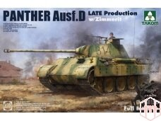 Takom - Panther Ausf. D Late Production, 1/35, 2104