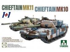 Takom - Chieftain MK 10 & Chieftain MK 11, Mastelis: 1/72, 5006