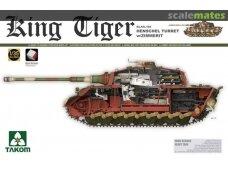 Takom - SdKfz. 182 King Tiger Henschel Turret su Zimmerit ir naujais vikšrais, Mastelis: 1/35, 2045S