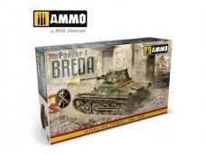 AMMO MIG - Panzer I Breda Guerra Civil Espanola 1936-1939, 1/35, 8506