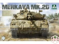 Takom - Merkava 2D Israel Defence Forces Main Battle Tank, 1/35, 2133