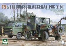 Takom - T3 & Feldumschlaggerat Fug 2.5t, 1/35, 2141
