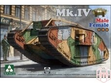 Takom - WWI Heavy Battle Tank Mk.IV, Scale: 1/35, 2076