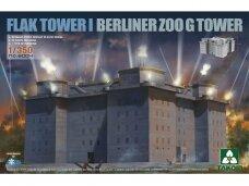 Takom - Flak Tower I Berliner Zoo G Tower, 1/350, 6004