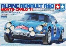 Tamiya - Alpine Renault A110 Monte Carlo '71, Mastelis: 1/24, 24278