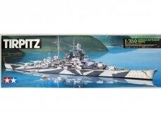 Tamiya - Tirpitz German Battleship, 1/350, 78015