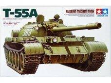 Tamiya - T-55A Russian Medium Tank, 1/35, 35257