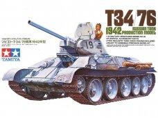 Tamiya - Russian Tank T-34/76, Mastelis: 1/35, 35049
