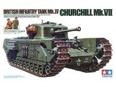 Tamiya - British Infantry Tank Mk.IV Churchill Mk.VII, 1/35, 35210