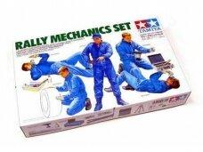 Tamiya - Rally Mechanics Set, 1/24, 24266