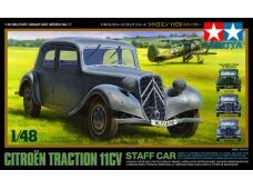 Tamiya - Citroen Traction 11CV, Mastelis: 1/48, 32517