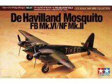 Tamiya - De Havillan Mosquito FB Mk.VI/NF Mk.II, 1/72, 60747