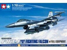 Tamiya - F-16CJ Fighting Falcon su pilna ginkluote, Mastelis: 1/72, 60788