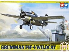 Tamiya - Grumman F4F-4 Wildcat, 1/48, 61034