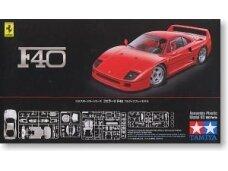 Tamiya - Ferrari F40, Mastelis: 1/24, 24295