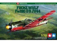 Tamiya - Focke-Wulf Fw190 D-9 JV44, 1/72, 60778