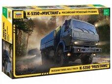 Zvezda - KAMAZ Mustang Russian 6 x 6 military truck, Mastelis: 1/35, 3697
