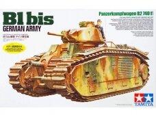 Tamiya - B1 bis German Army, 1/35, 35287