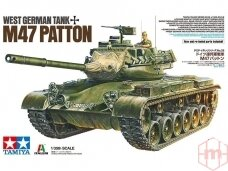 Tamiya - West German tank M47 Patton, Mastelis: 1/35, 37028