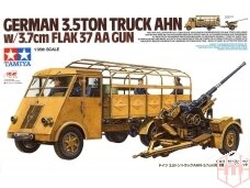 Tamiya - German 3.5t truck AHN w/3.7cm Flak 37 AA Gun, Scale:1/35, 32410