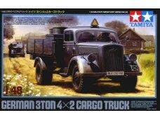 Tamiya - German 3ton 4x2 Cargo Truck, Mastelis: 1/48, 32585