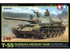 Tamiya - Russian Medium Tank T-55, Scale: 1/48, 32598