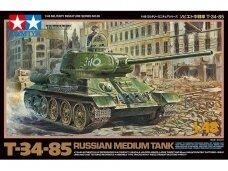 Tamiya - T-34-85, Mastelis: 1/48, 32599