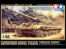 Tamiya - German King Tiger Porsche Turret, Mastelis: 1/48, 32539