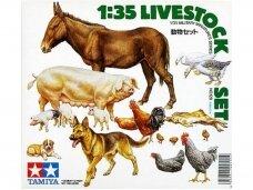 Tamiya - Livestock Set, Mastelis: 1/35, 35128