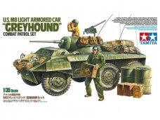 "Tamiya - US M8 Light Armored Car ""Greyhound"", Mastelis: 1/35, 25196"