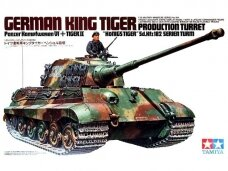 Tamiya - German King Tiger Production Turret, Scale: 1/35, 35164