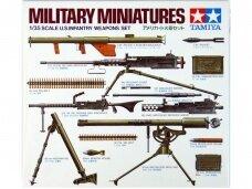 Tamiya - U.S. Infantry Weapons Set, 1/35, 35121