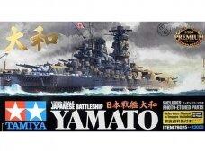 Tamiya - Japanese Battleship Yamato su Fotoėsdintomis detalėmis, Mastelis: 1/350, 78025