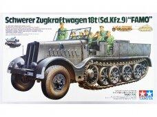 Tamiya - Schwerer Zugkraftwagen 18t (Sd.Kfz.9) Famo, 1/35, 35239