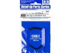 Tamiya - Cable (Outer Dia 0.65mm/Black), 12676