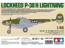 Tamiya - Lockheed P-38H Lightning, Mastelis: 1/48, 25199