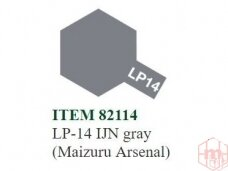 Tamiya - LP-14 IJN gray (Maizuru Arsenal), 10ml