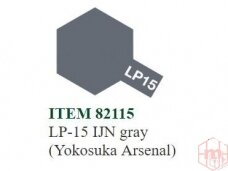 Tamiya - LP-15 IJN gray (Yokosuka Arsenal), 10ml