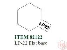 Tamiya - LP-22 Flat base, 10ml